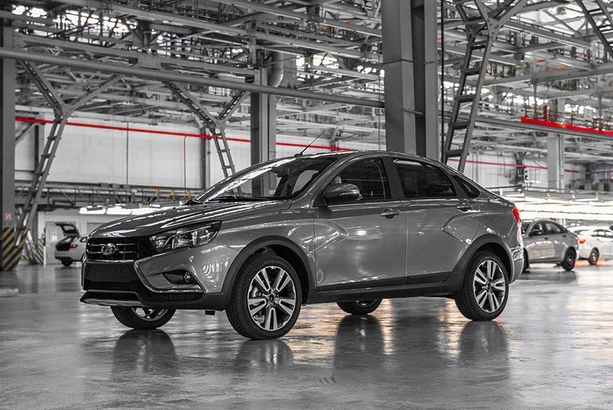 Названа дата начала продаж «внедорожной» версии седана Лада Vesta Cross