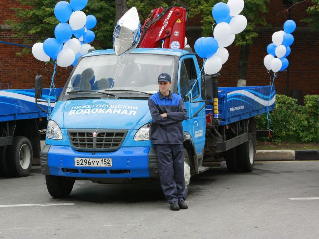 Нижегородский водоканал приобрёл новоиспеченной техники на65 млн. руб.