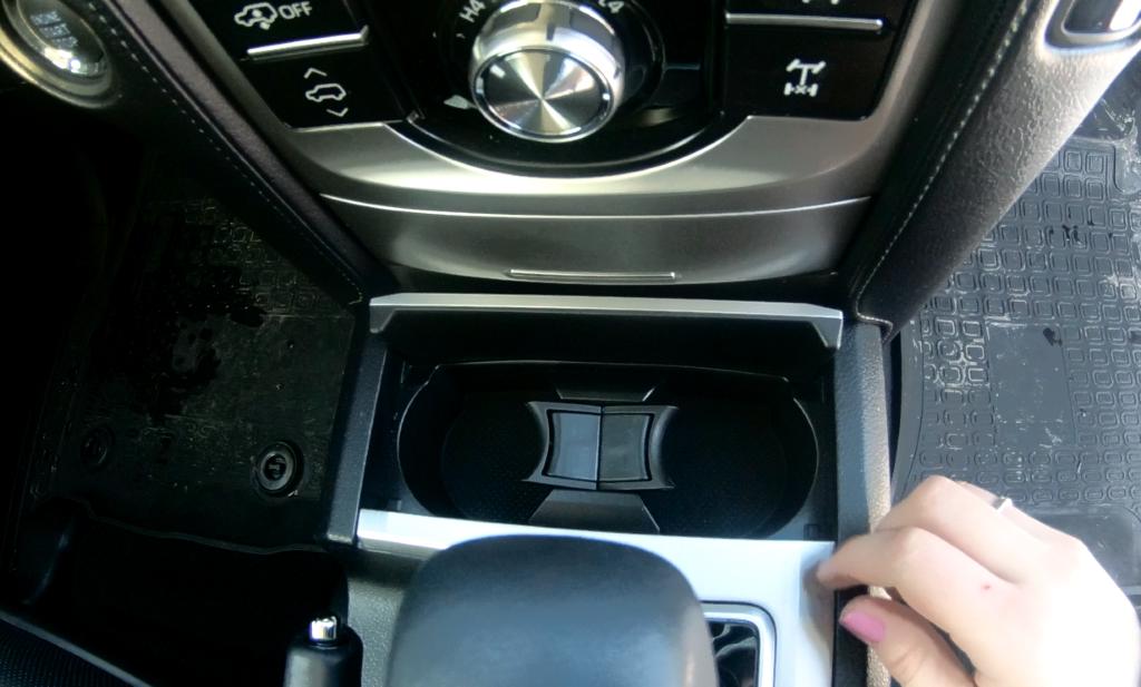 Toyota Land Cruiser Prado подстаканники фото