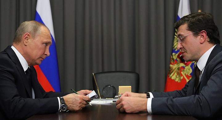 Никитин представил Путину варианты развития дорожной инфраструктуры Нижегородской области
