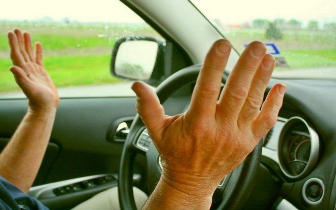 Кривой руль после замены колеса