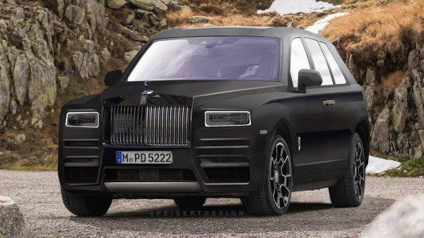 Rolls-Royce Cullinan фото