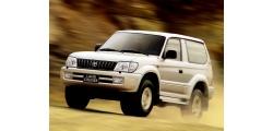 Toyota Land Cruiser Prado компактный внедорожник 1999-2002
